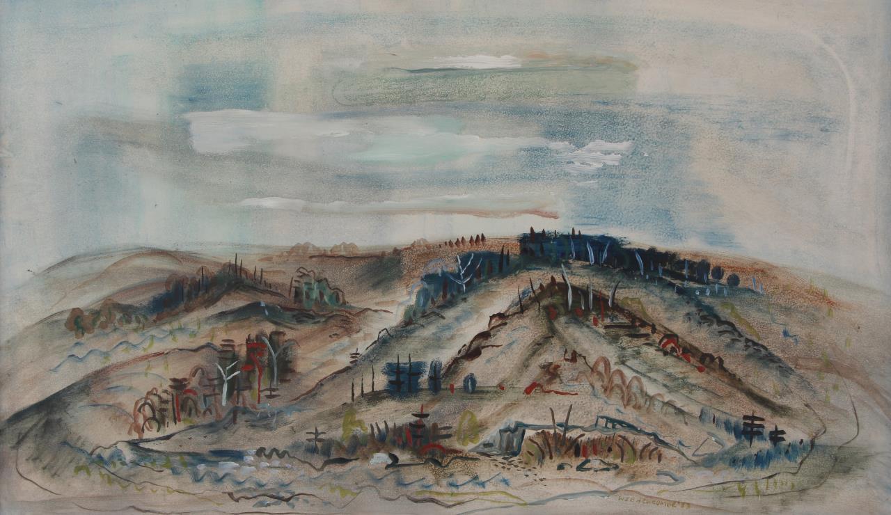 William Newcombe, Dagmar Hills ca 1954