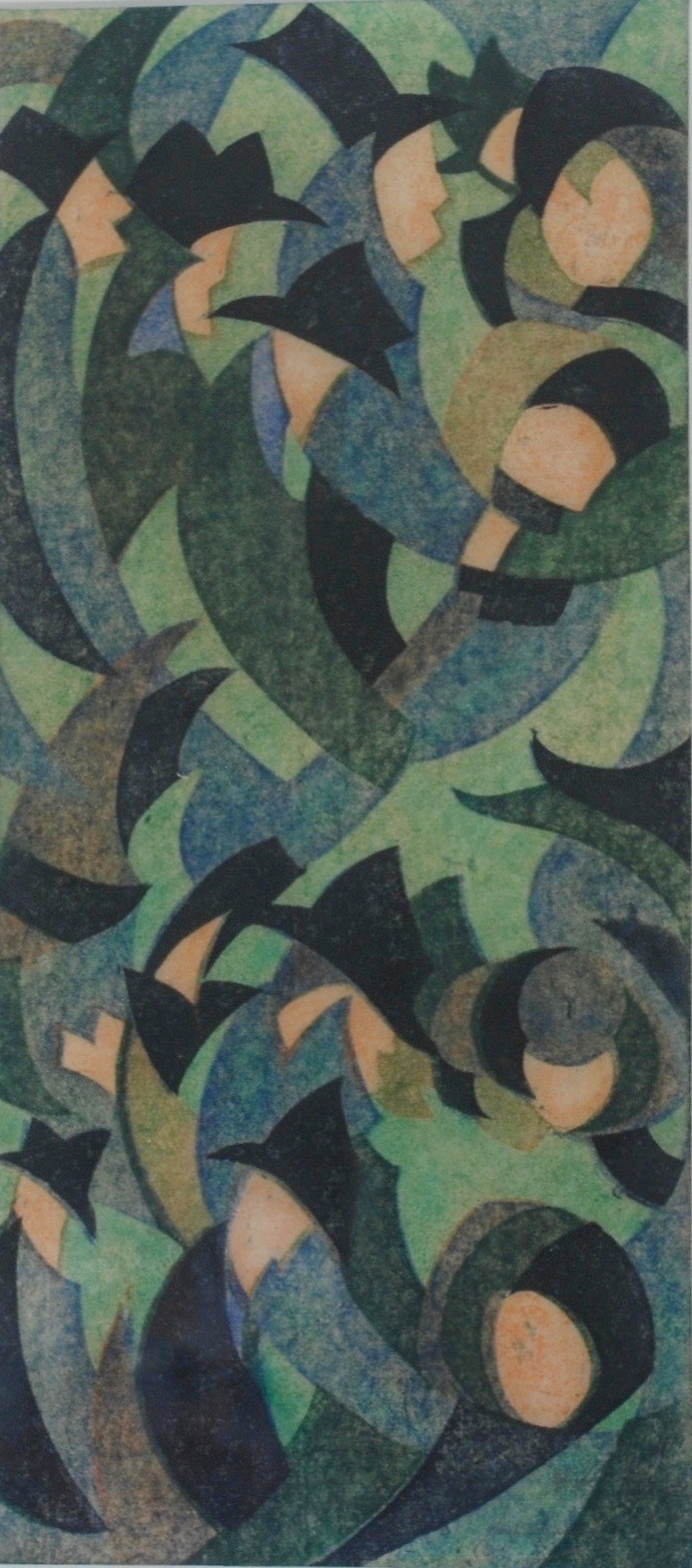 Sybil Andrews, Hyde Park, 1931