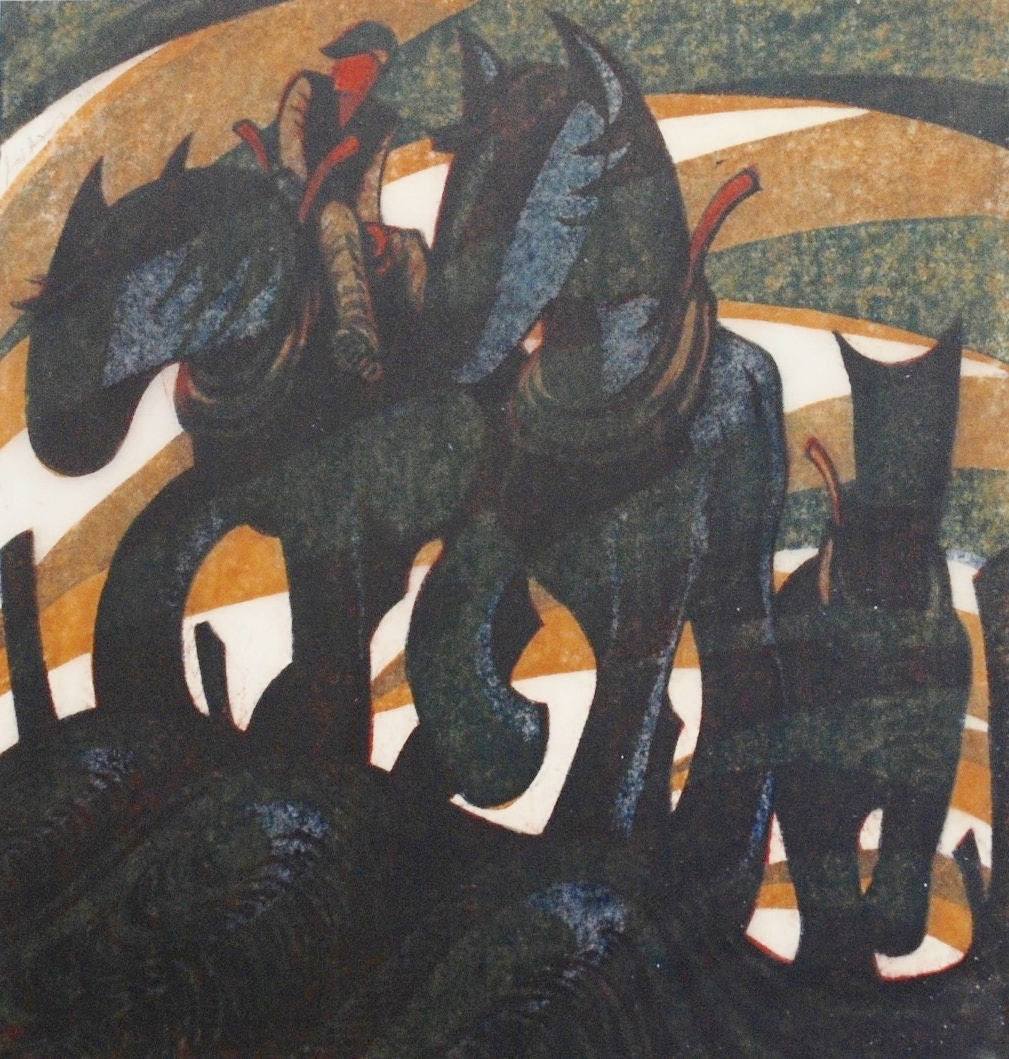 Sybil Andrews, Days End, 1961