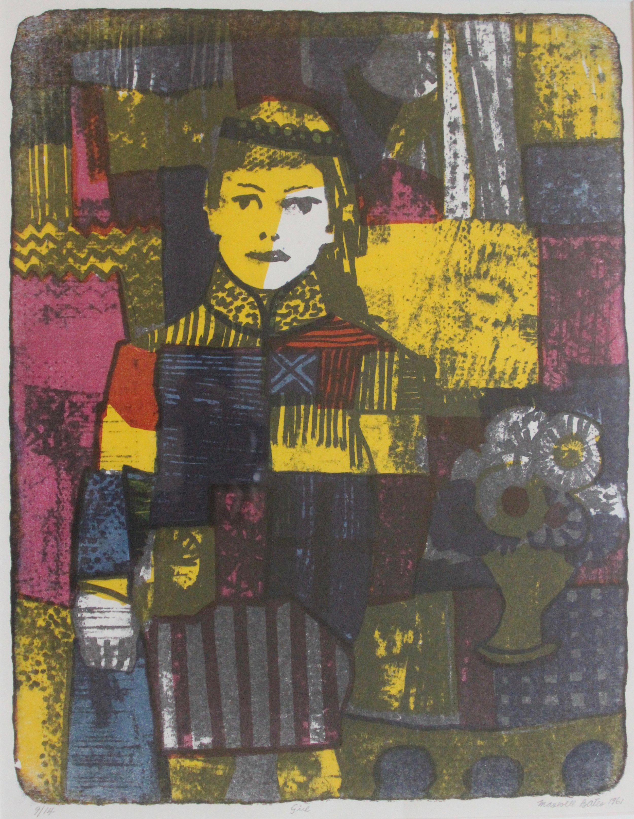 Maxwell Bates, Girl, 1961