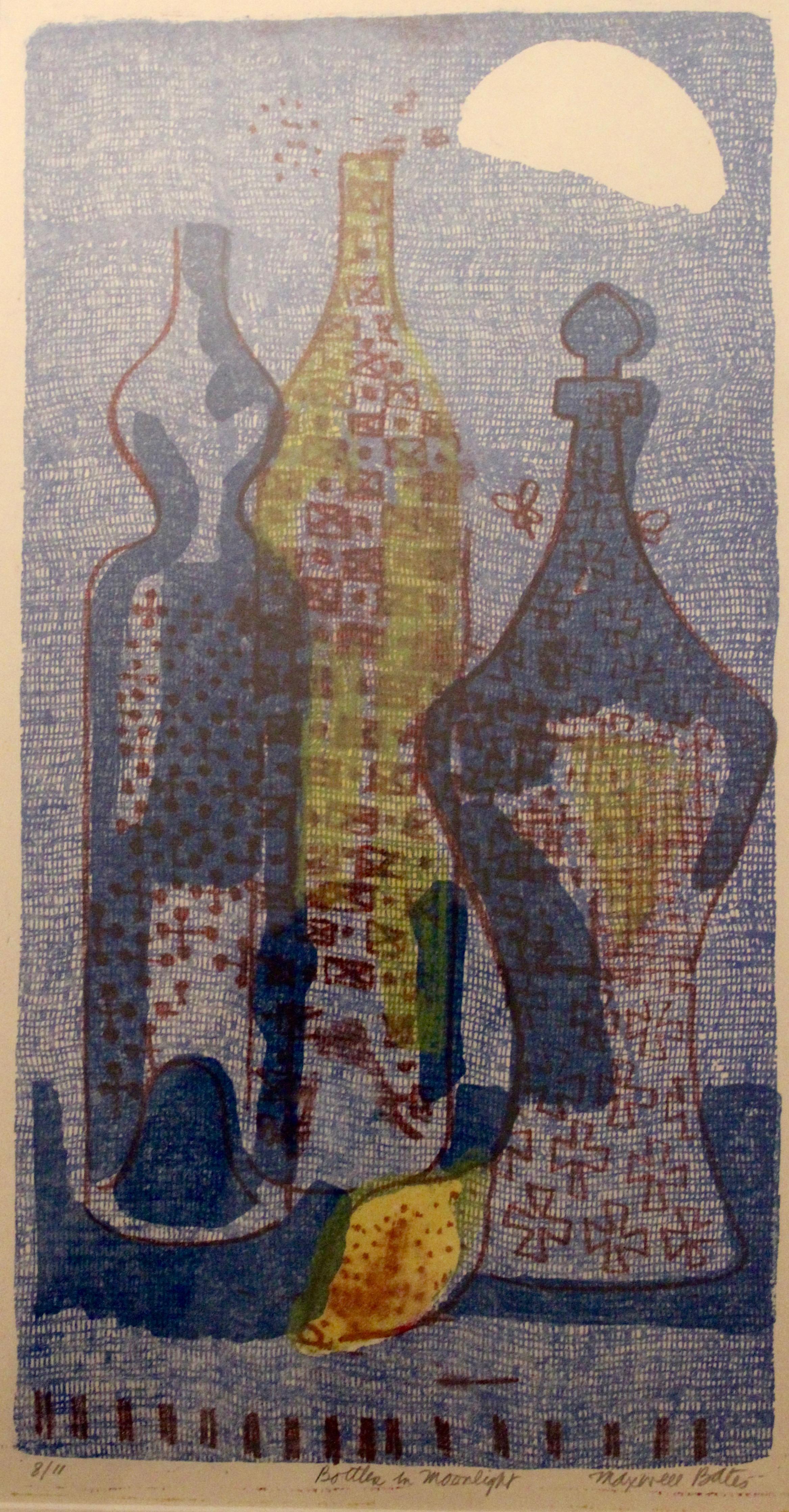 Maxwell Bates, Bottles in Moonlight