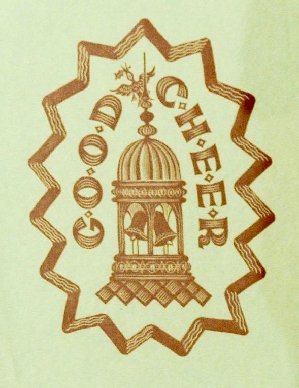 Alistair Macready Bell, Good Cheer, Christmas Card