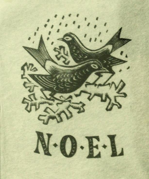 Alistair Macready Bell, Noel, Christmas Card