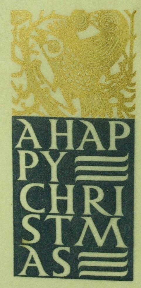 Alistair Macready Bell, Happy Christmas, Christmas Card