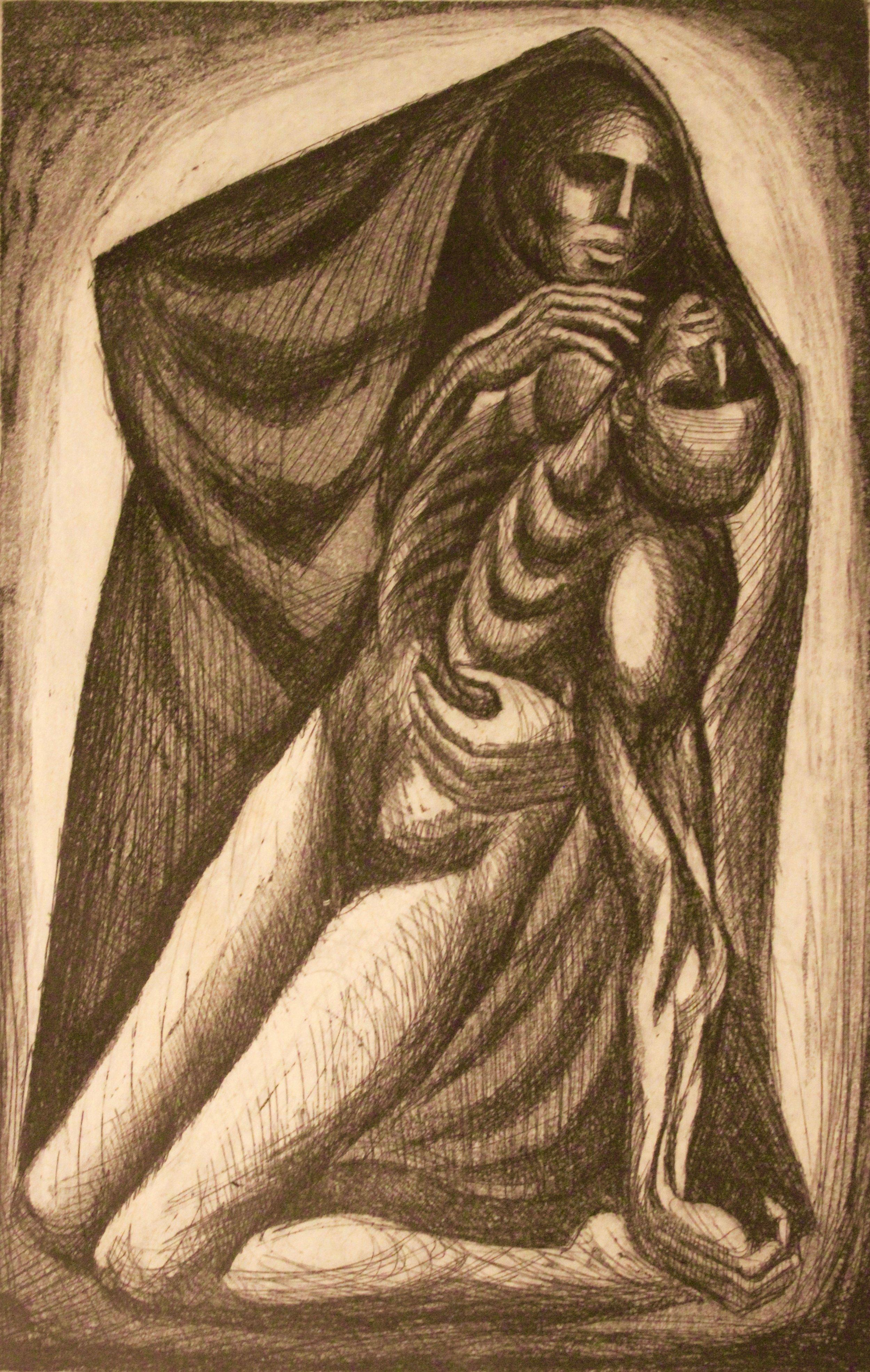 Arnold Belkin, La Madre #2, 1958