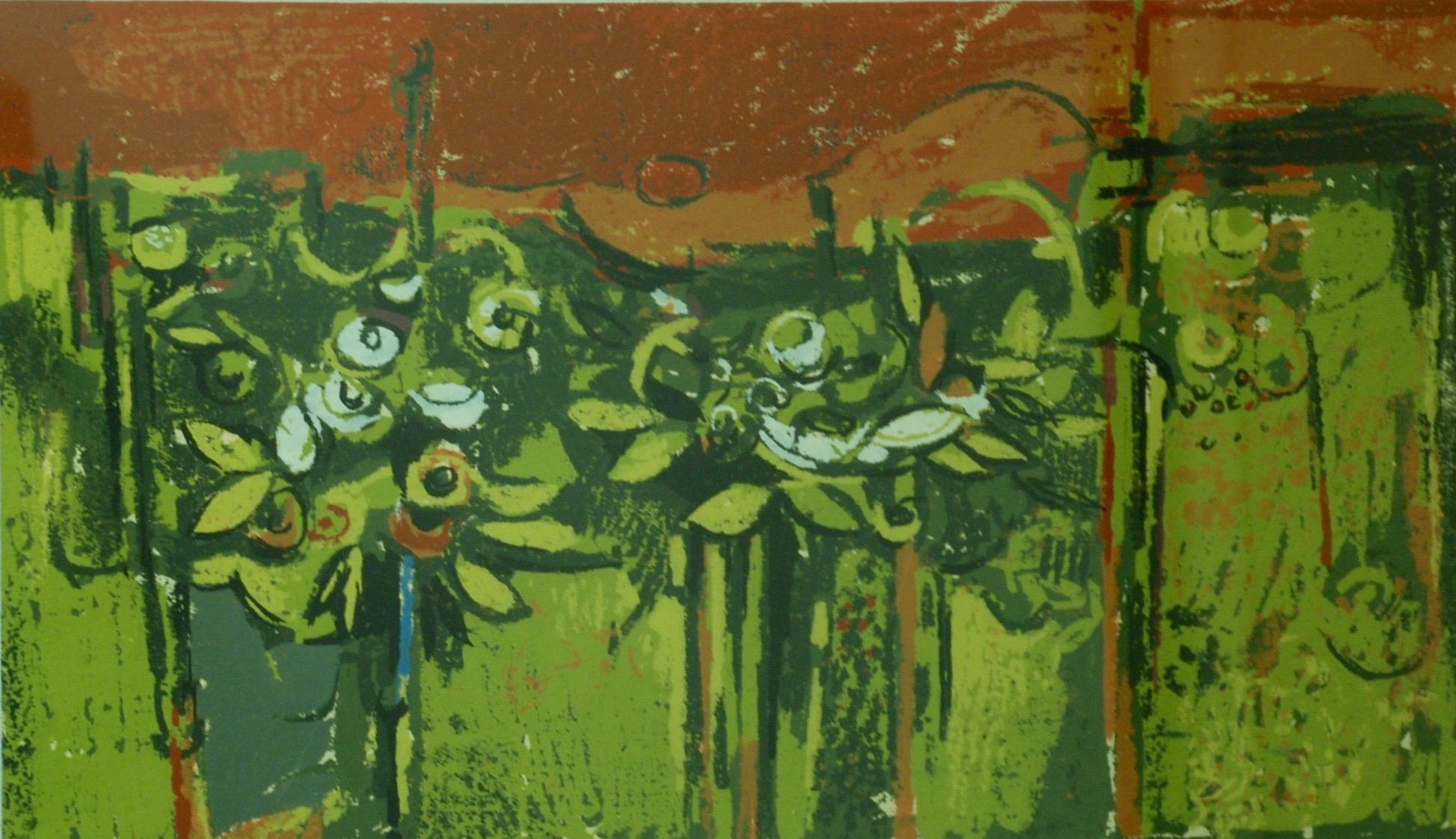 Gordon Applebe Smith, Landscape with Red Sky