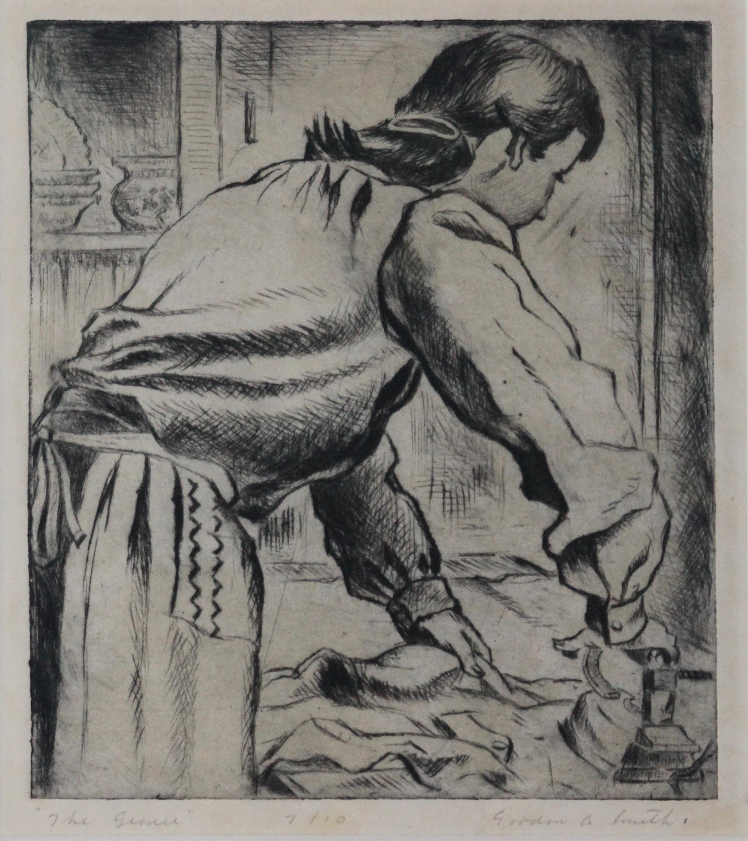 Gordon Applebe Smith, The Ironer, 1945