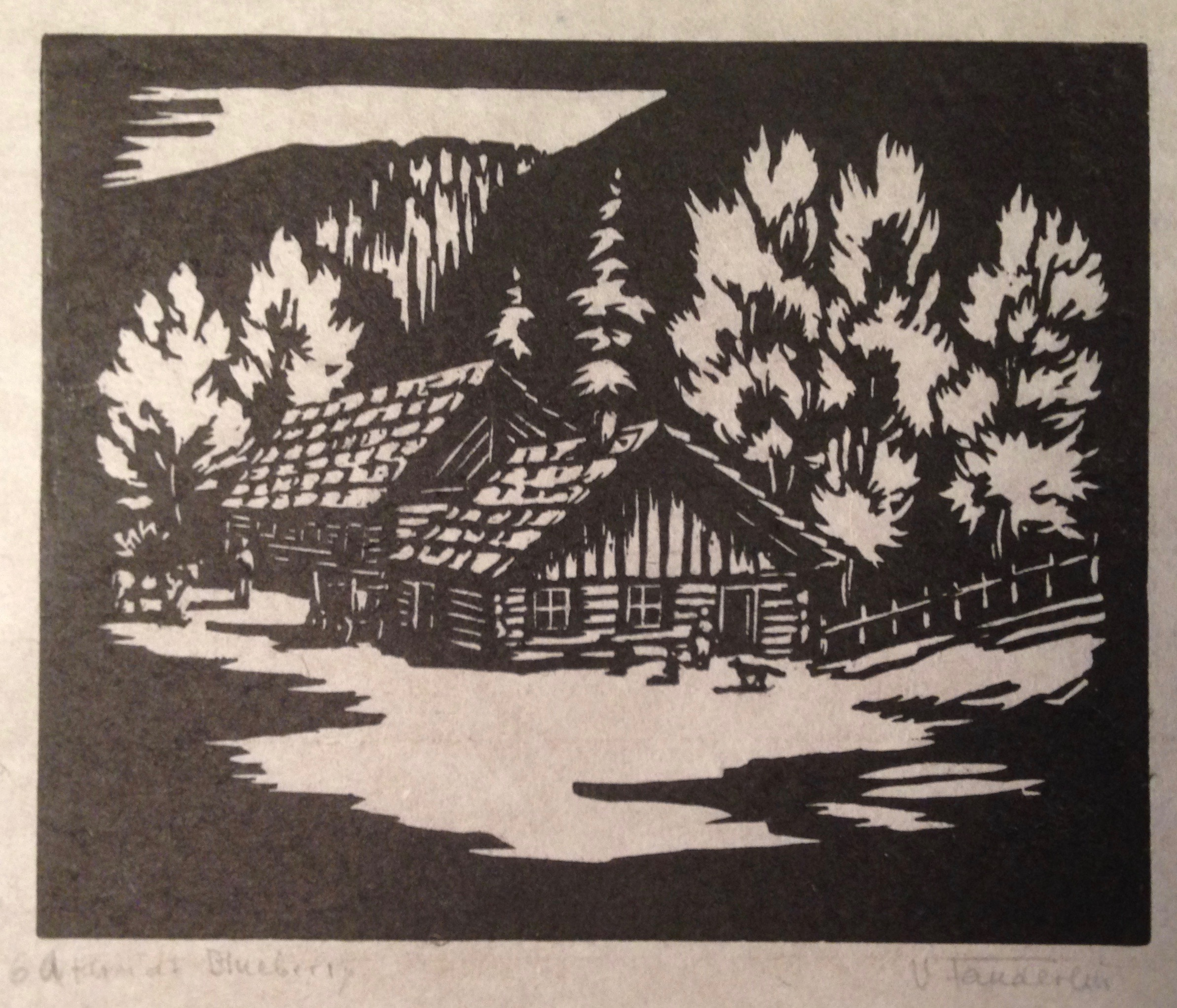 Velen Fanderlik, A Farm at Blueberry