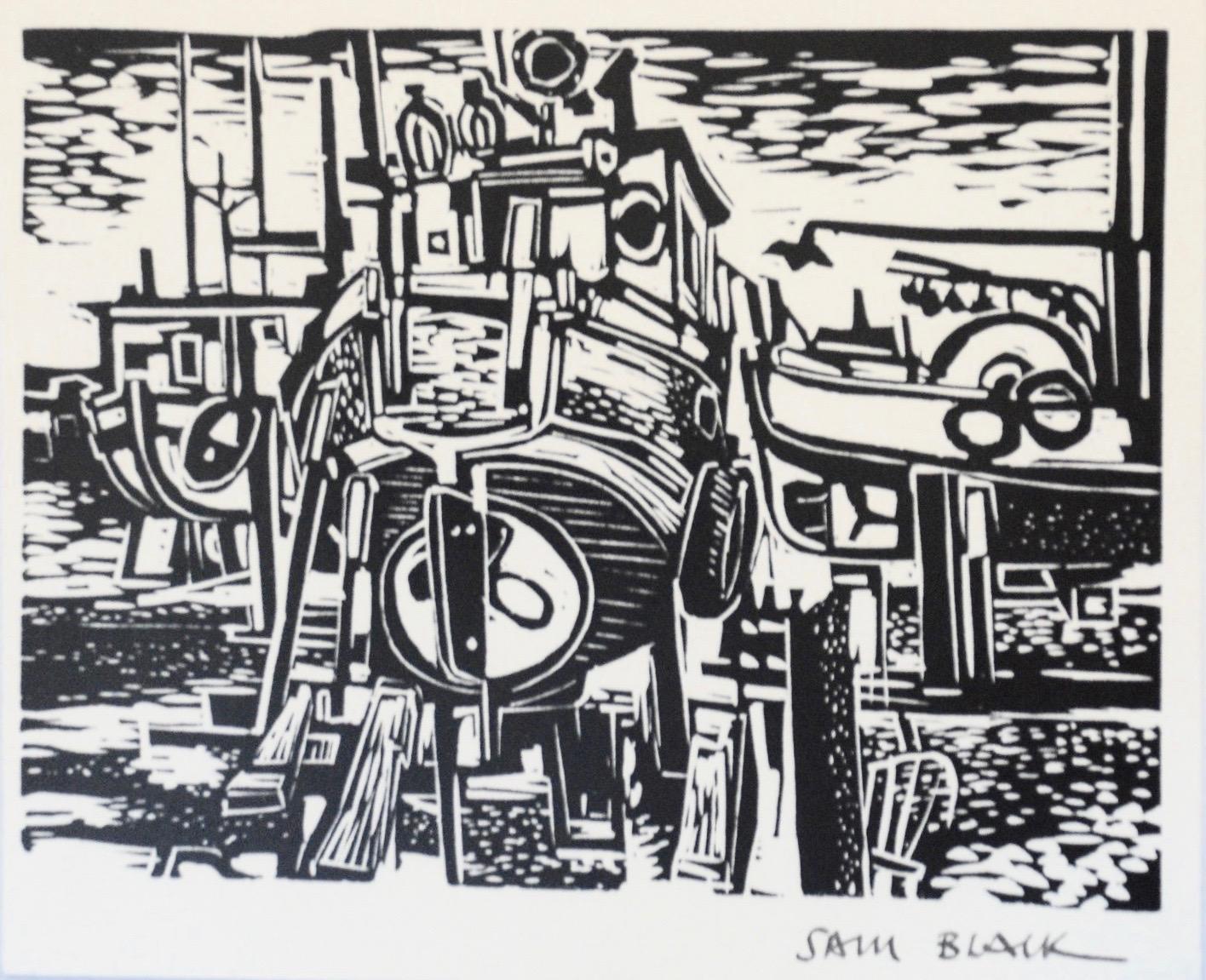 Sam Black, Untitled (River Boats)