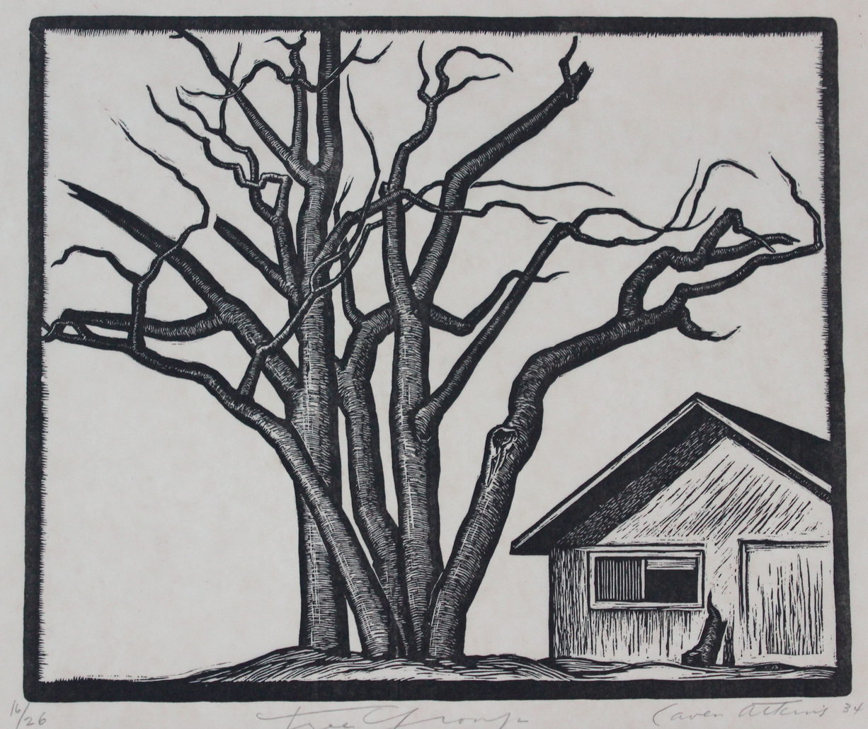 Caven Atkins, Tree Forms, 1934
