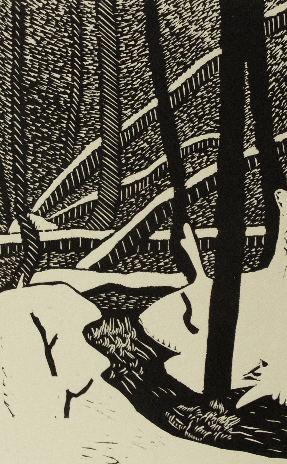 Arnold Shives, Hidden Place, Hollyburn Mt, 1982