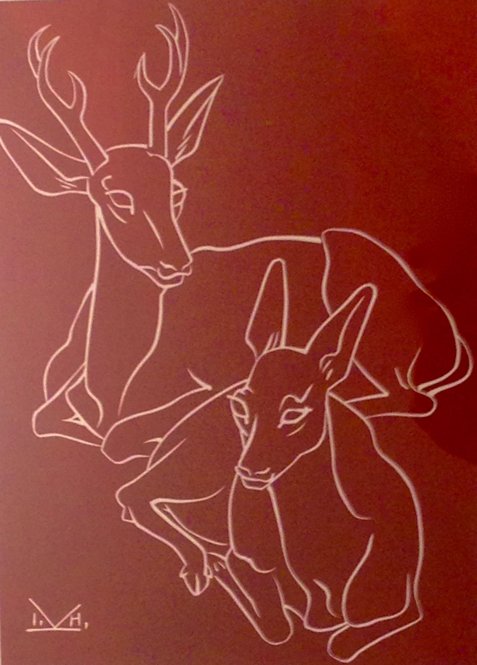 Illingworth Holey Kerr, Mule Deer