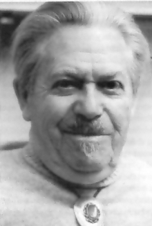 Illingworth Holey (Buck) Kerr, photo by Dr. Paul Chapnick