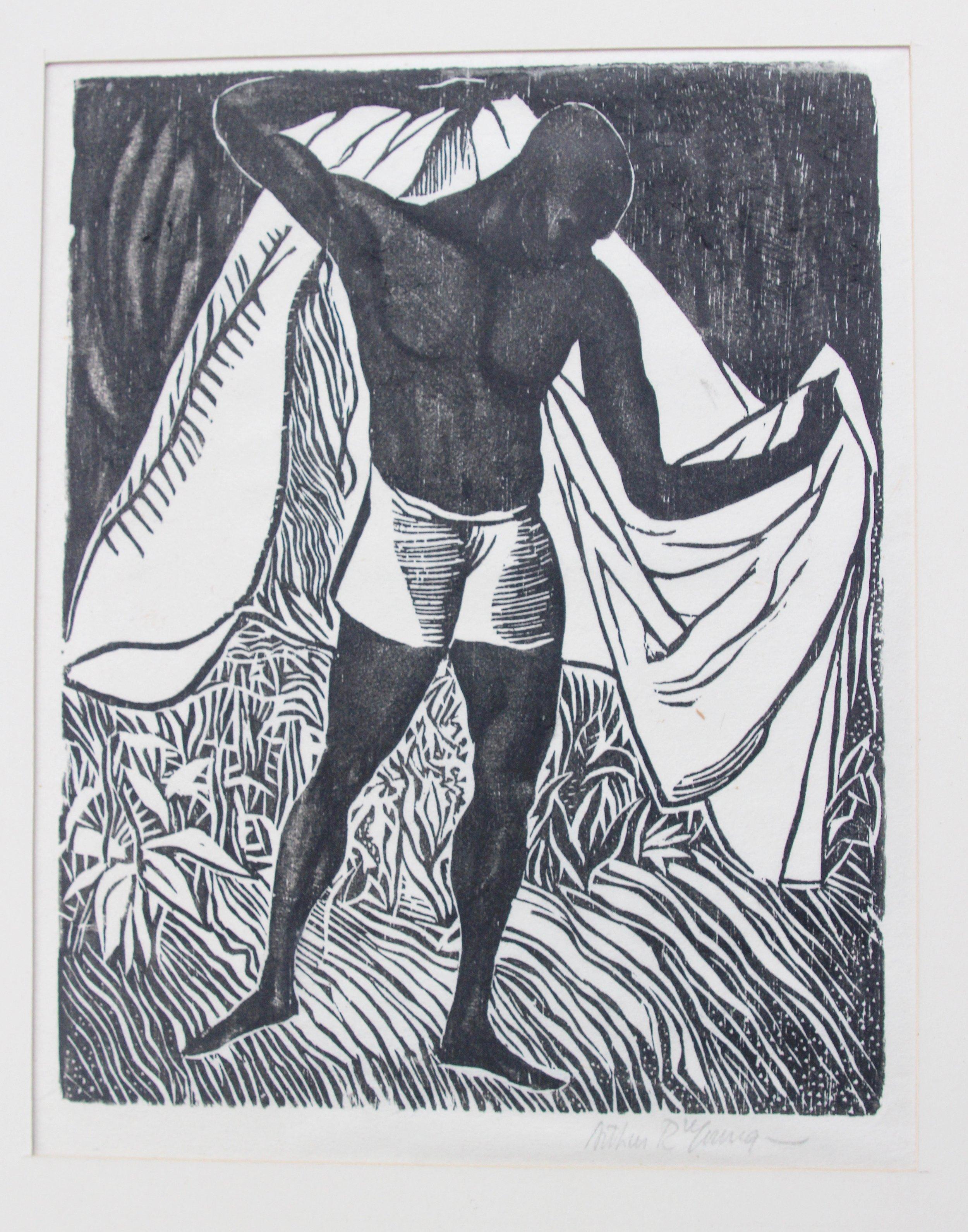 Arthur R. Young, Black Athlete, 1924