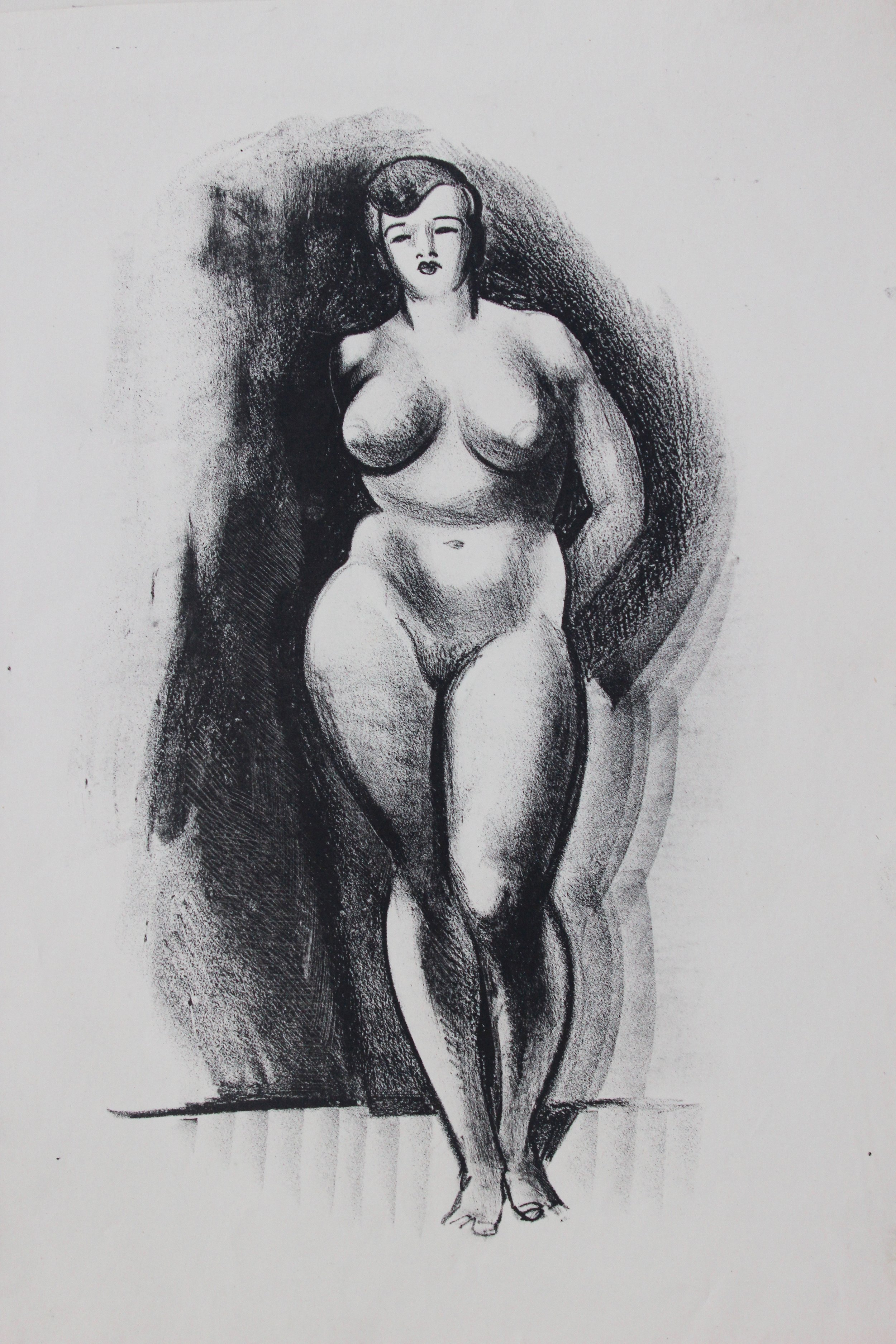 Arthur R. Young, Untitled (nude)