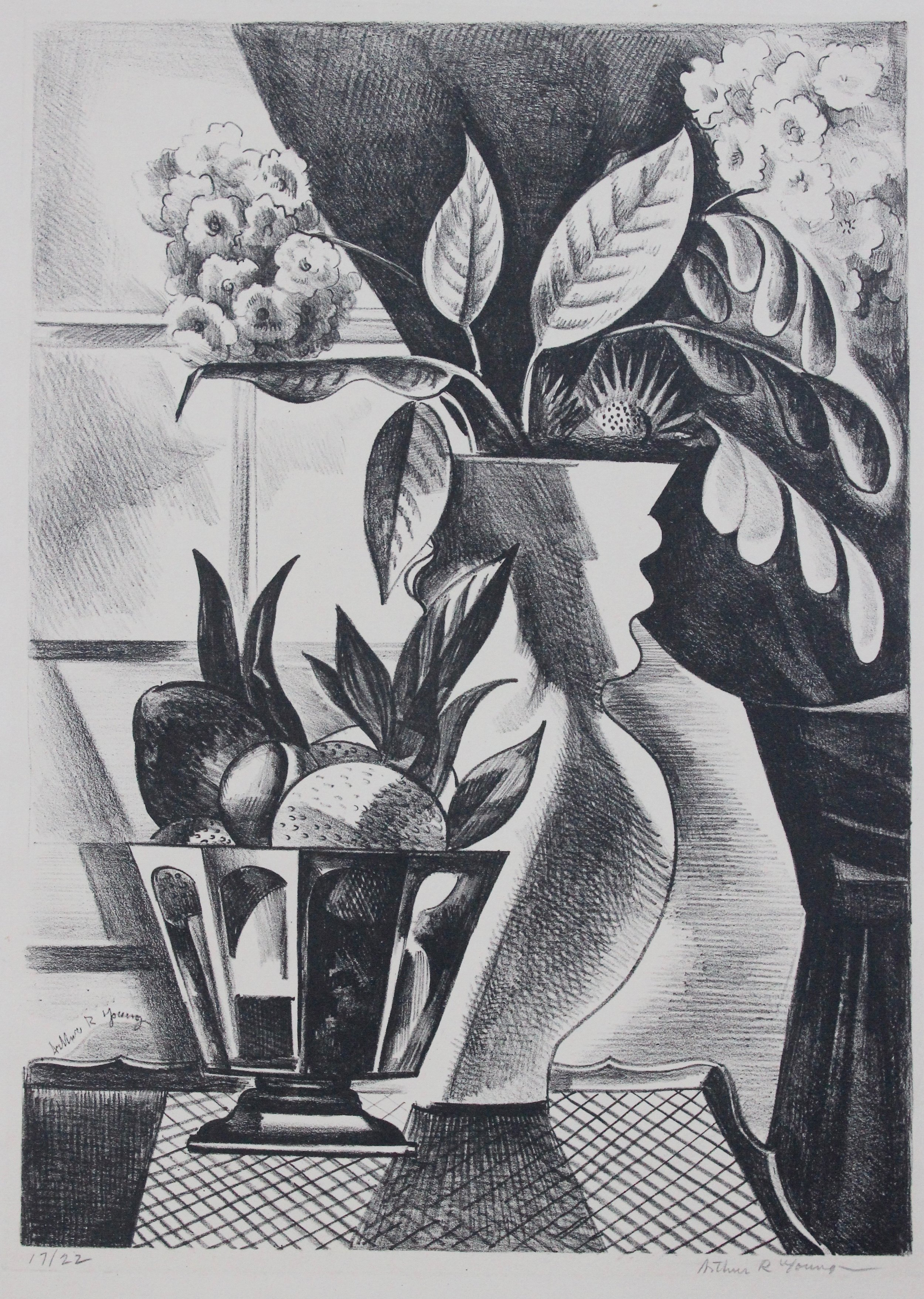Arthur R. Young, Untitled (still life with flowers)