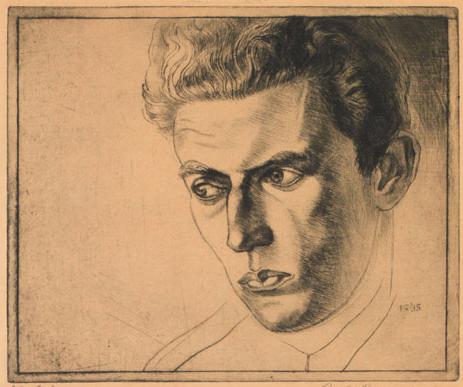 Paul Goranson, Portrait of a Man, 1936