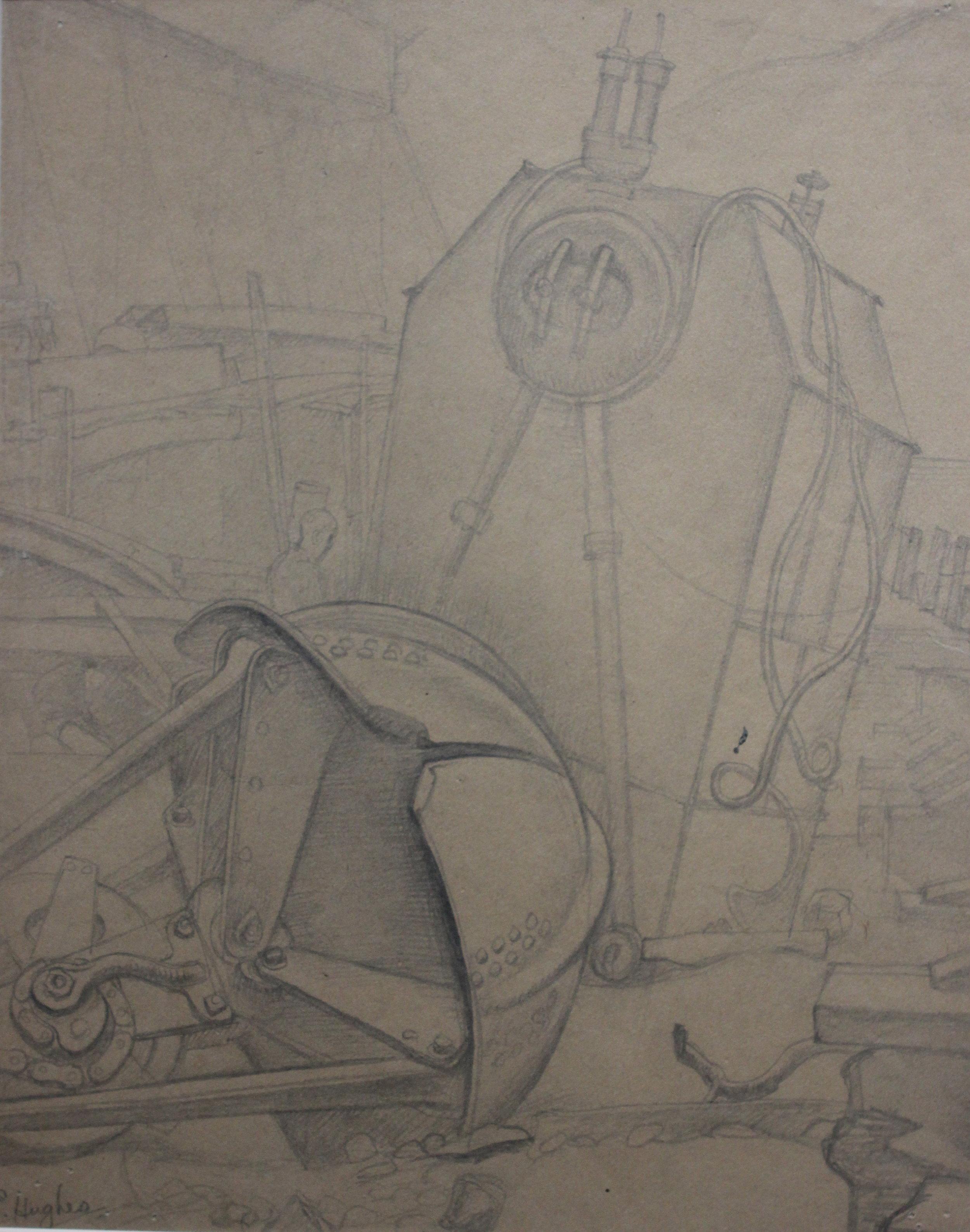 E.J Hughes, Machinery