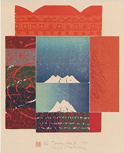 Naoko Matsubara, Tibetan Sky B, 1987