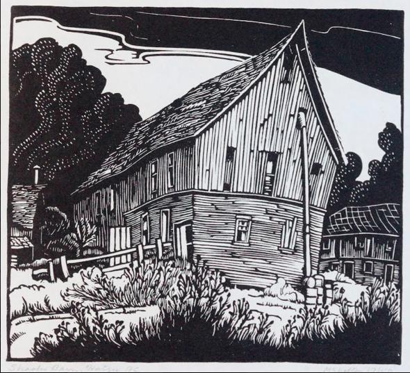 Margaret Shelton, Shooks Barn, Hatzig, BC,