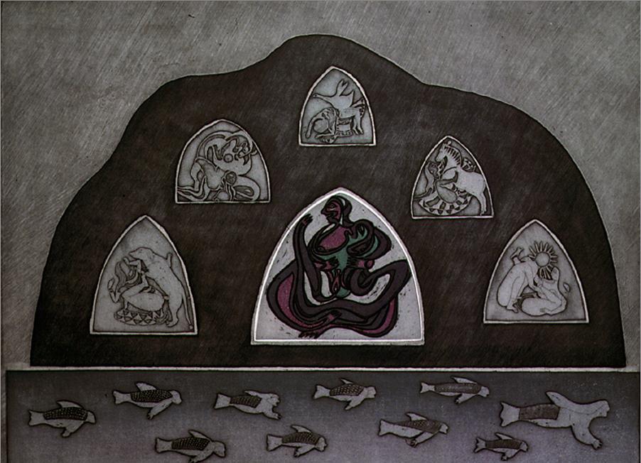 Noboru Sawai, Inuit Fables, 1983