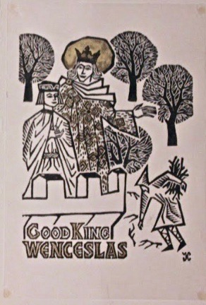 Georges Kuthan, Good King Wenceslas Christmas Card
