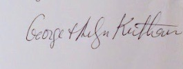 George Kuthan's Signature