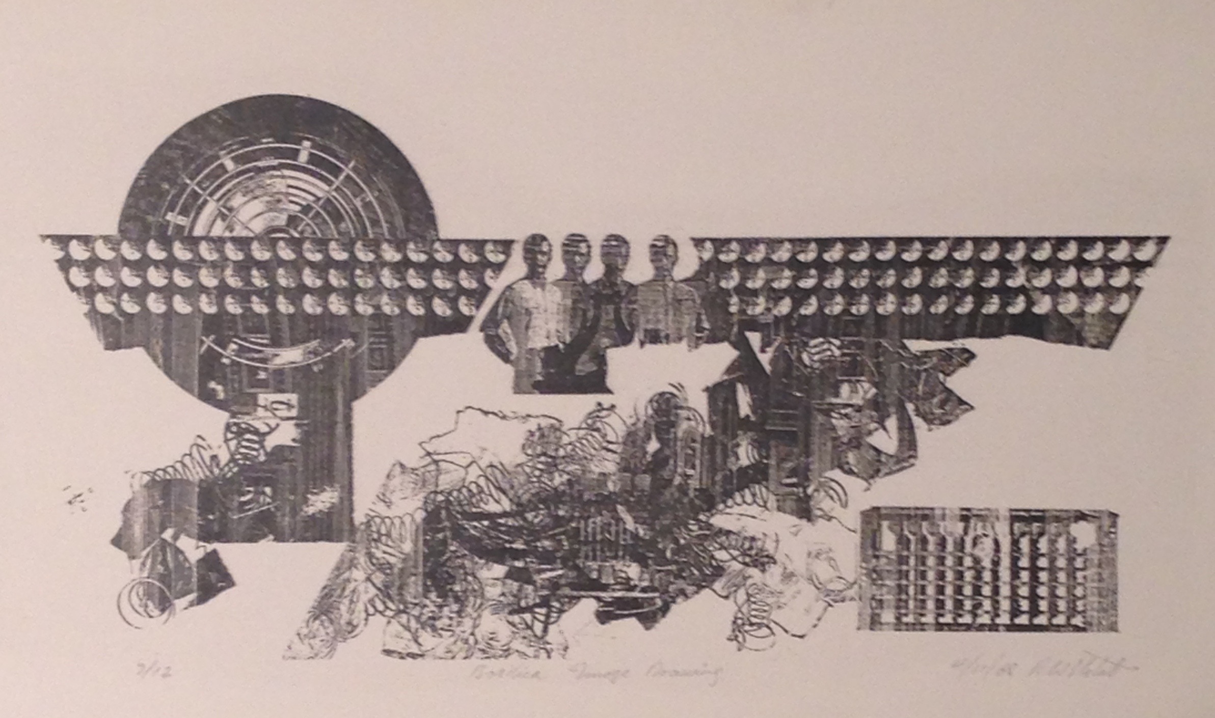 Wayne Eastcott, Basilica Image Drawing, 1968