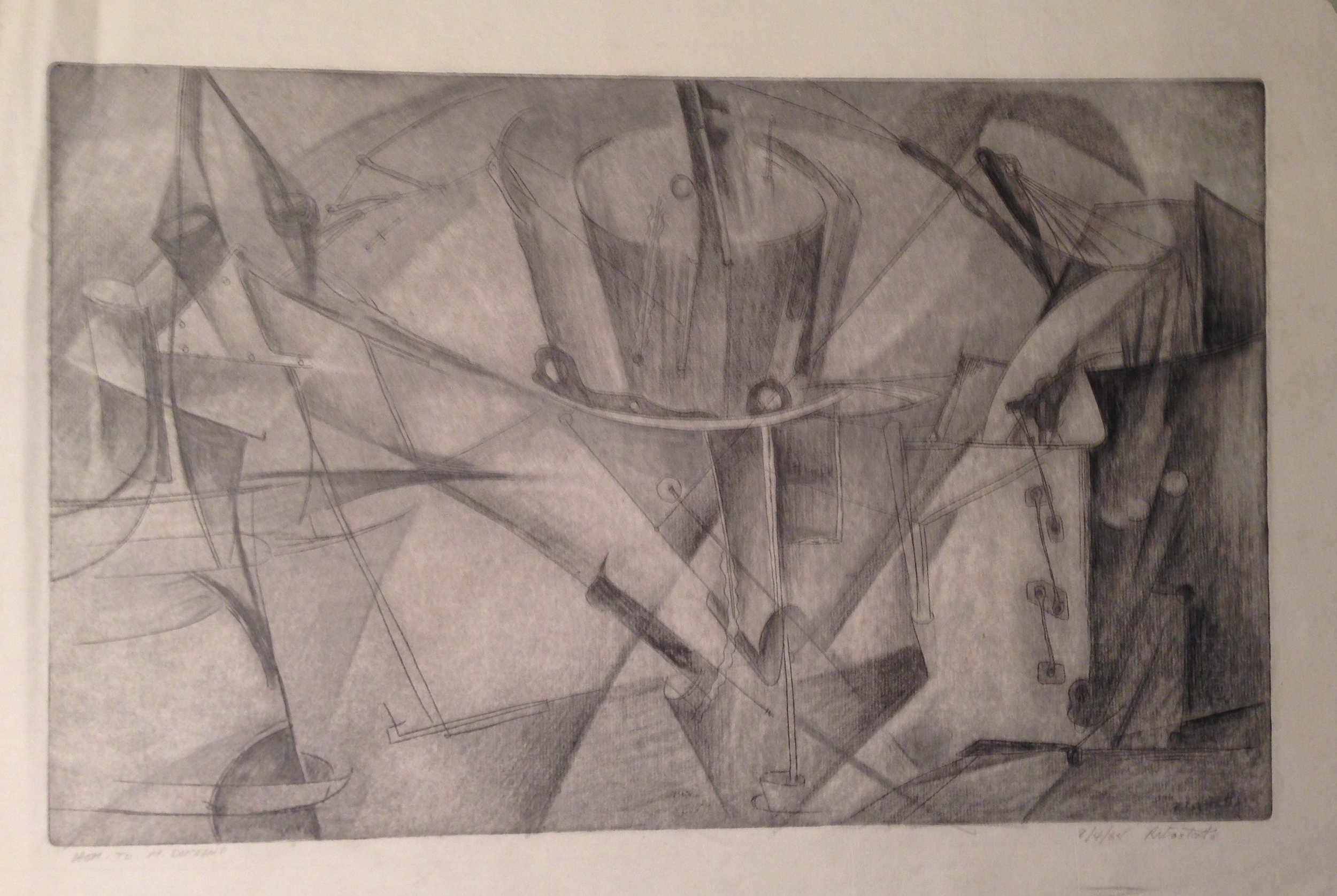 Wayne Eastcott, Hom.to M. Duchamp, 1965