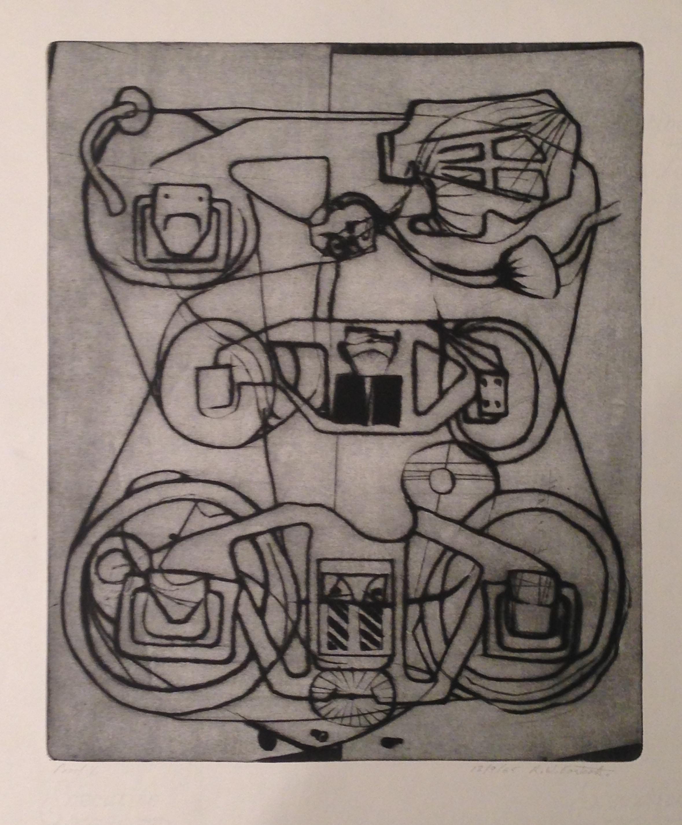 Wayne Eastcott, Untitled (abstract machine), 1965