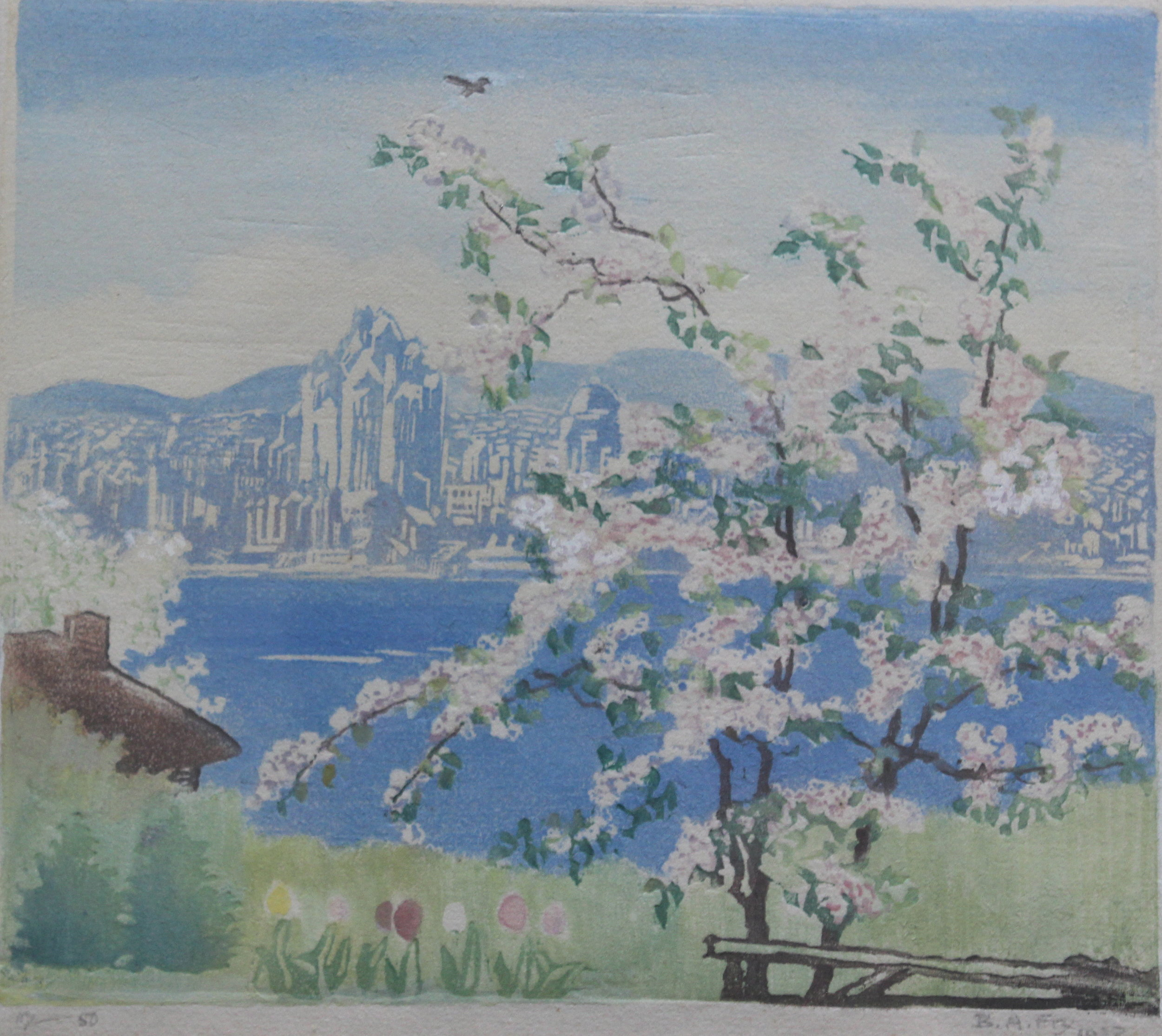 Bessie Adelaide Fry, Vancouver Blossoms,  1937