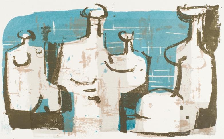 Herbert Siebner, Figure Group, 1959
