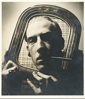 Robert Bruce Inverarity, self-portrait, 1938.  Archives of American Art, Smithsonian Institution.