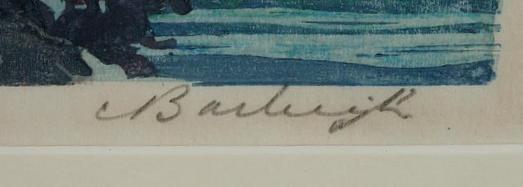 Barbara Leighton's Barleigh signature