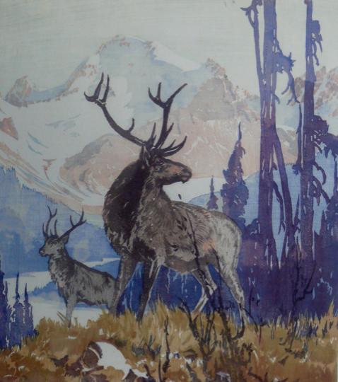 Barbara Leighton (Barleigh), Victory Elk