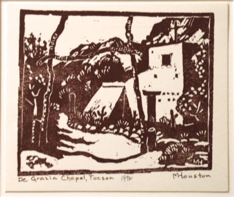 Martha Houston, De Grazia Chapel, Tucson, 1972