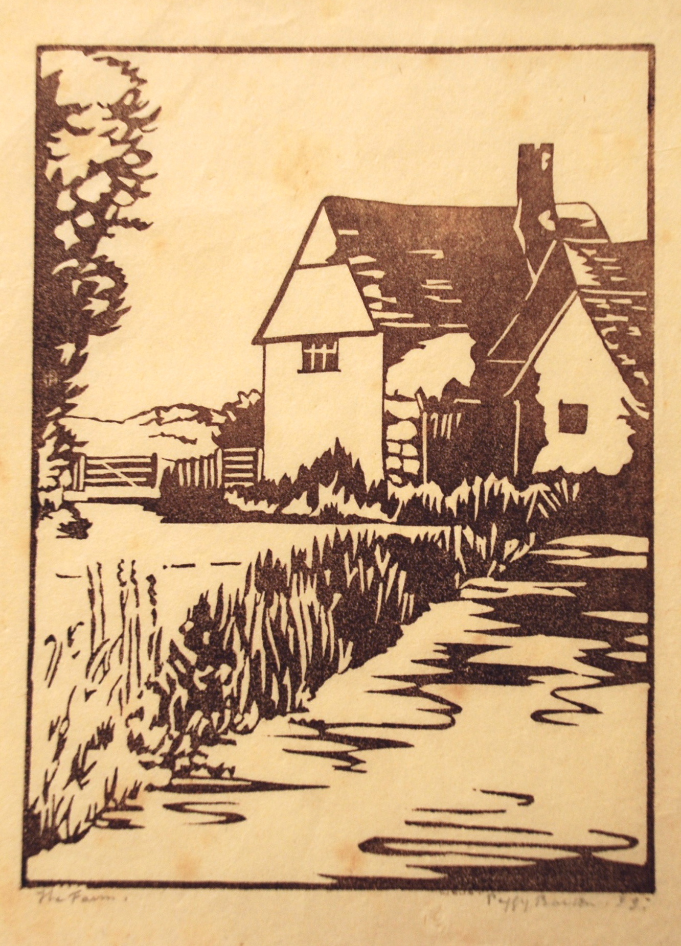 Peggy Barton, The Farm, 1933