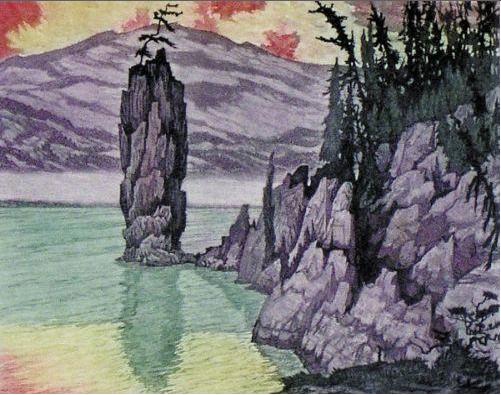 Nicholas Hornyansky, Siwash Rock, BC, 1946