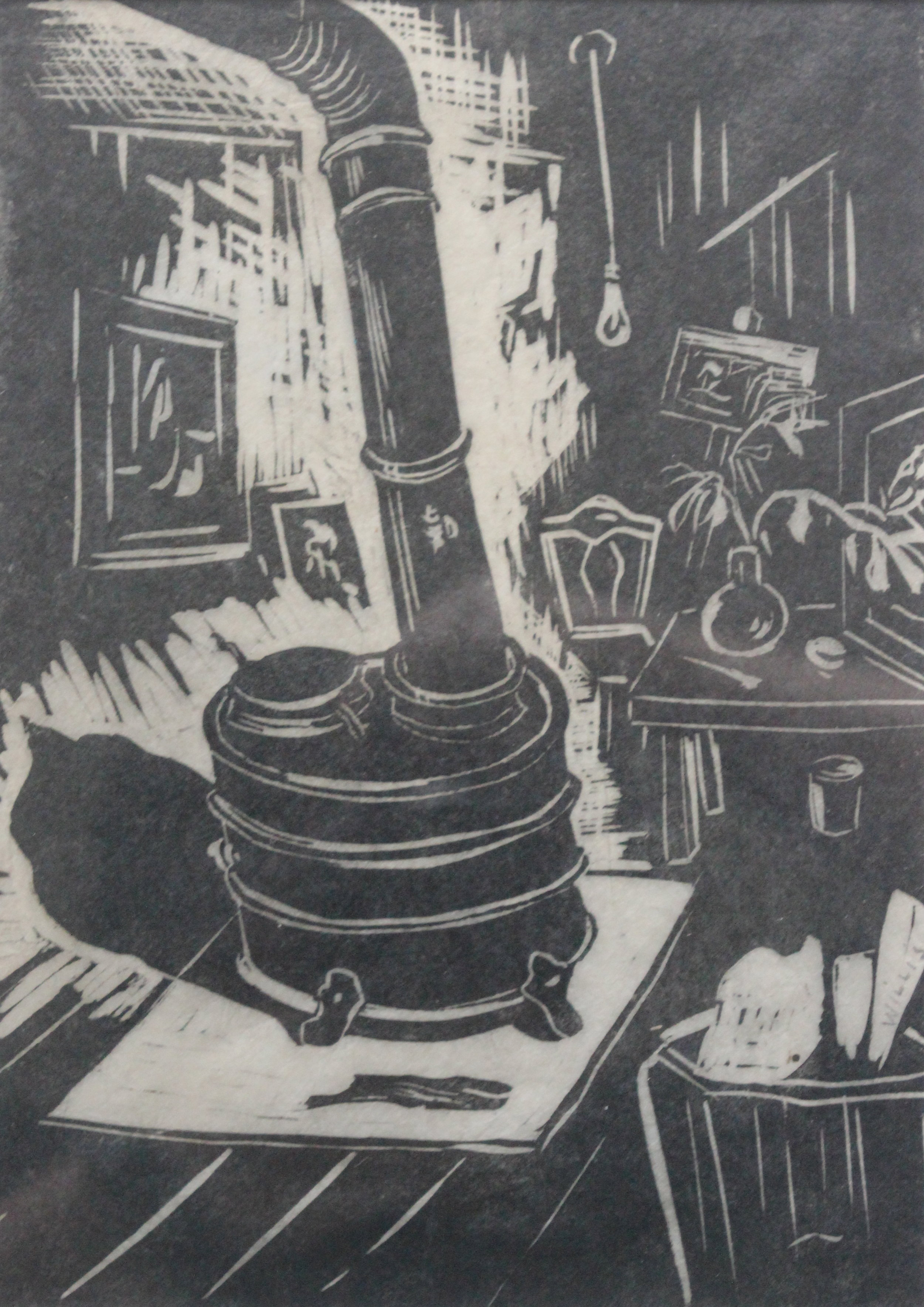 Dorothy Henzell-Willis, Stumpy, the Studio Stove, 1950