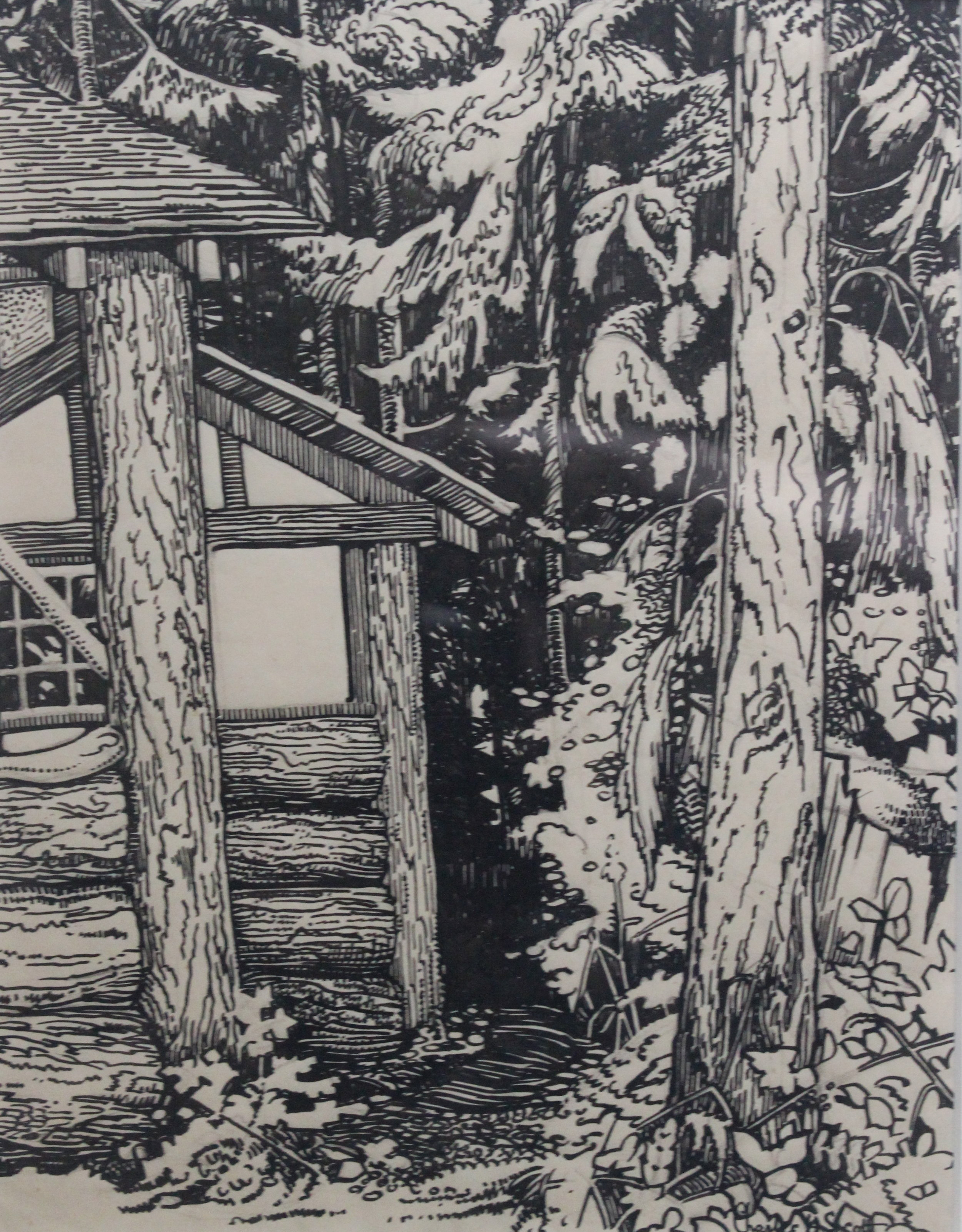 Charles H. Scott, Untitled (Path Down the Side of the House)