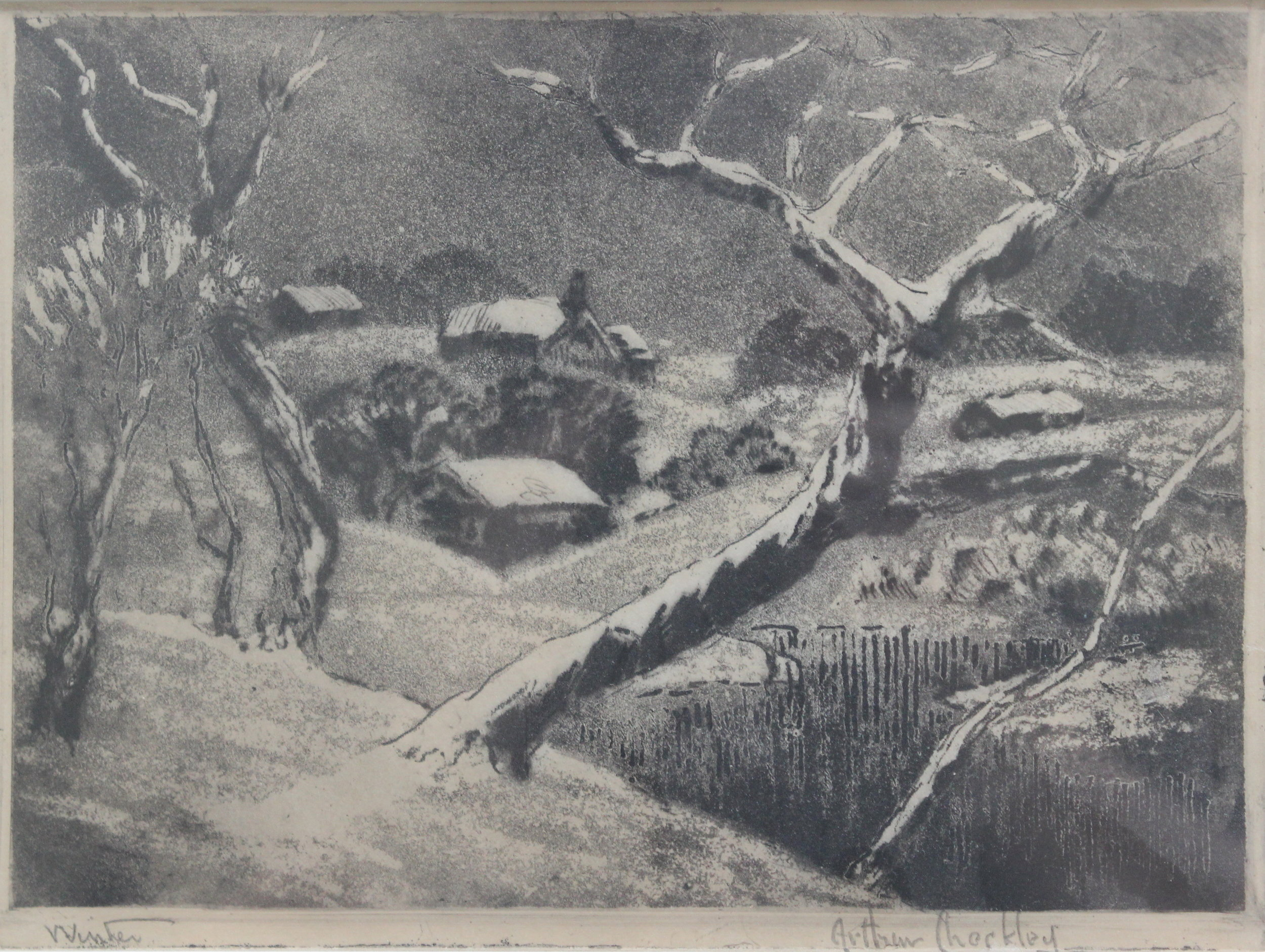 Arthur Checkley, Winter