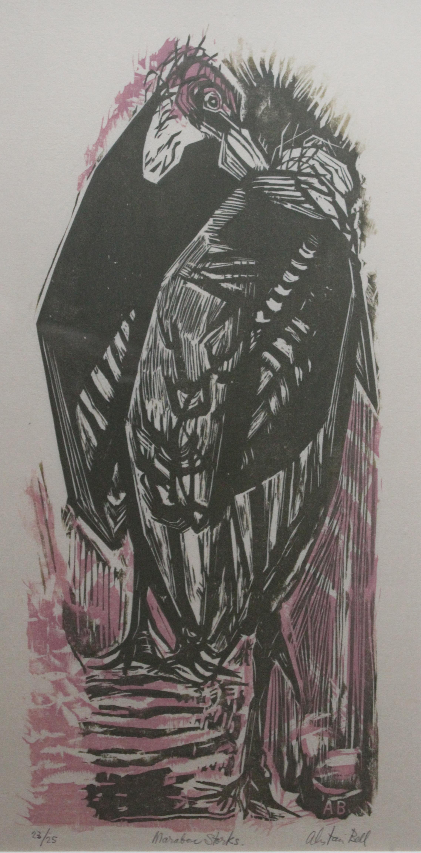 Alistair Macready Bell, Marabou Storks, 1956