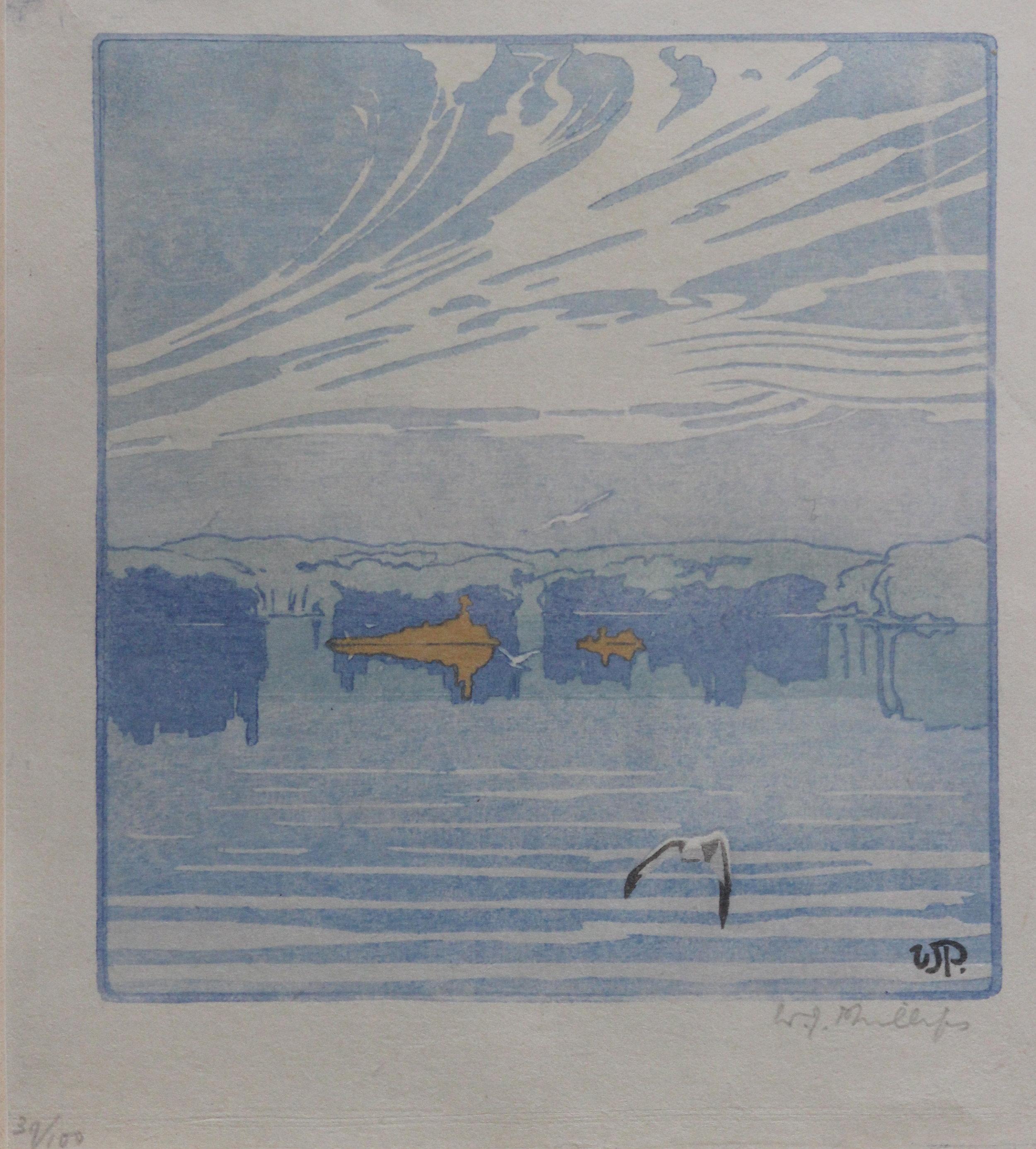 Walter J. Phillips, The Lake, 1918