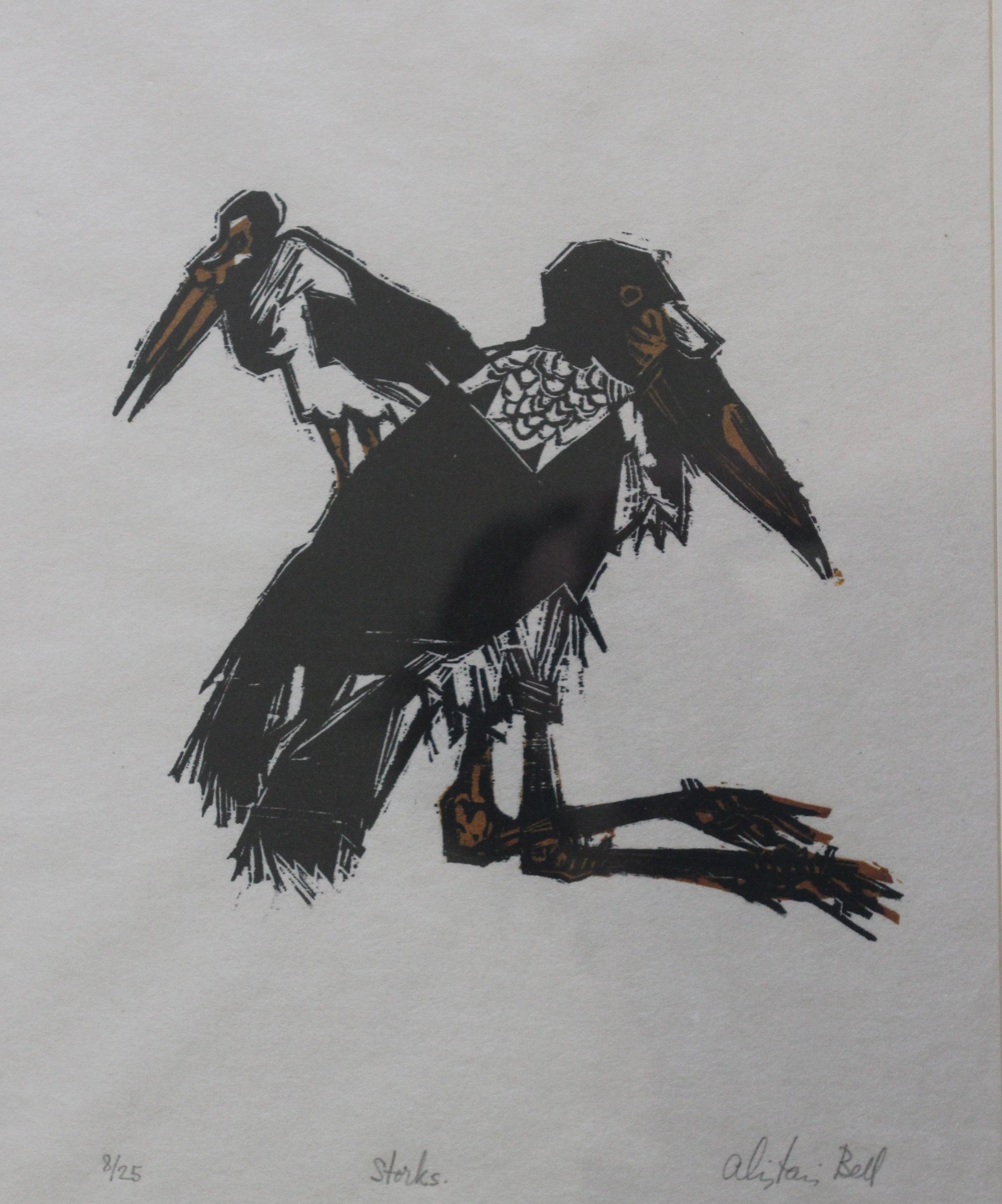 Alistair Macready Bell, Storks