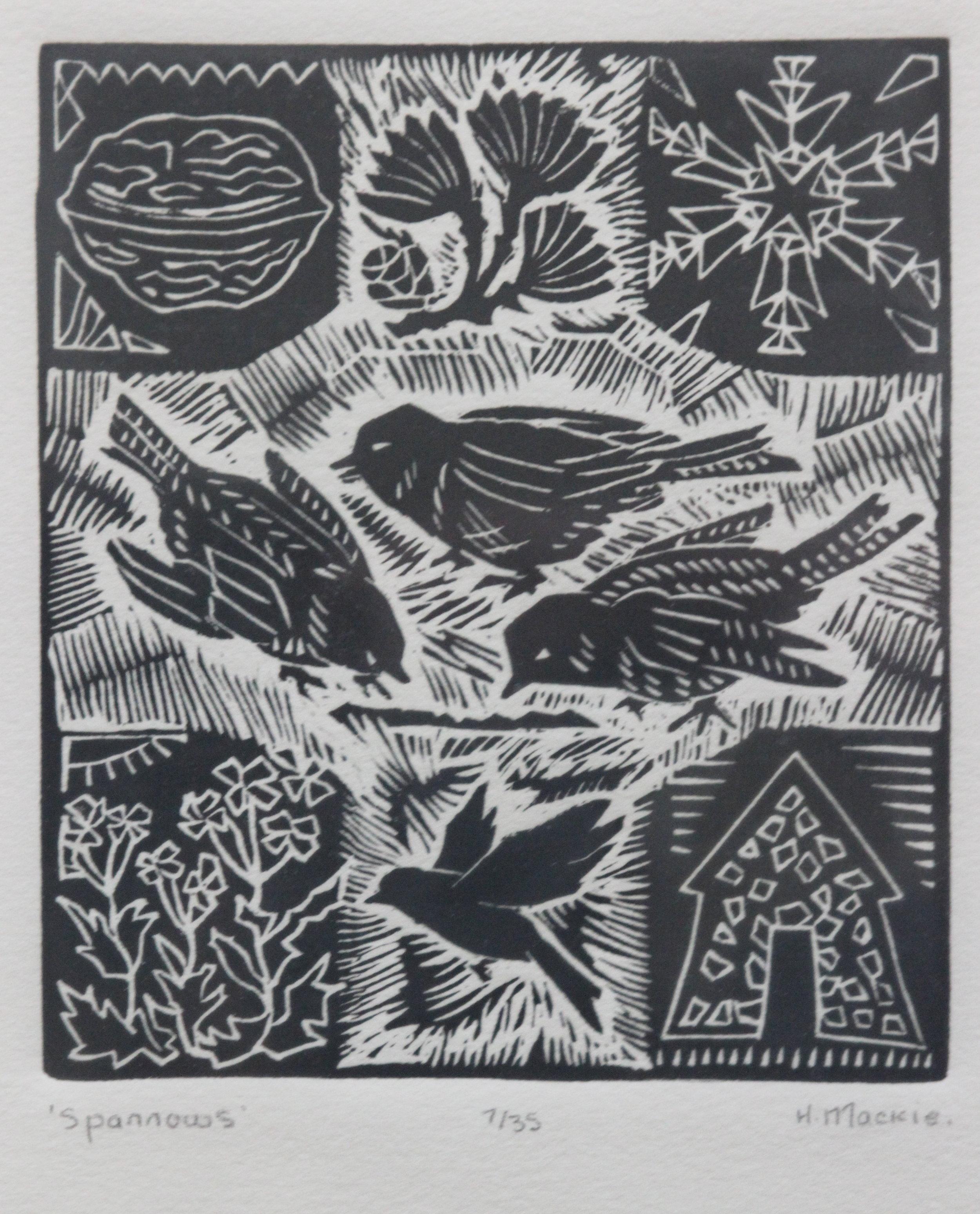 Helen Mackie, Sparrows