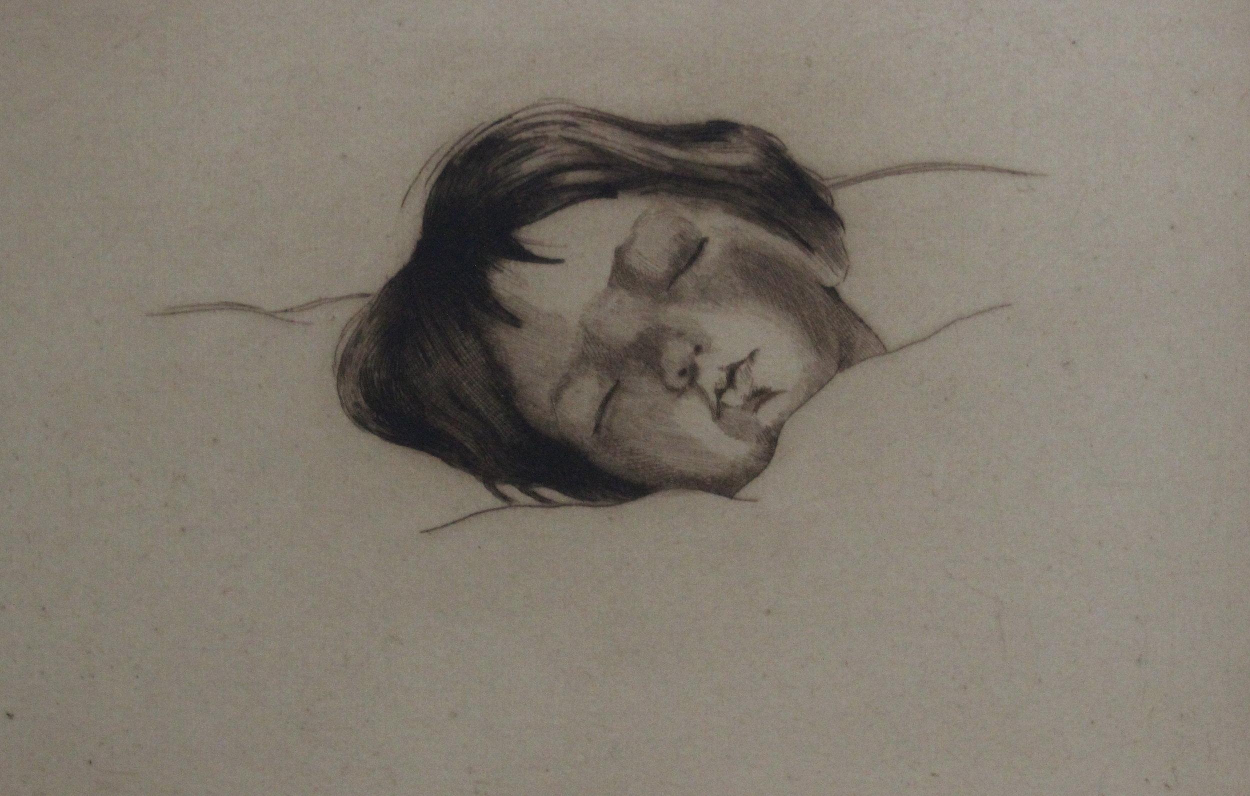 Charles H. Scott, Melvin Sleeping