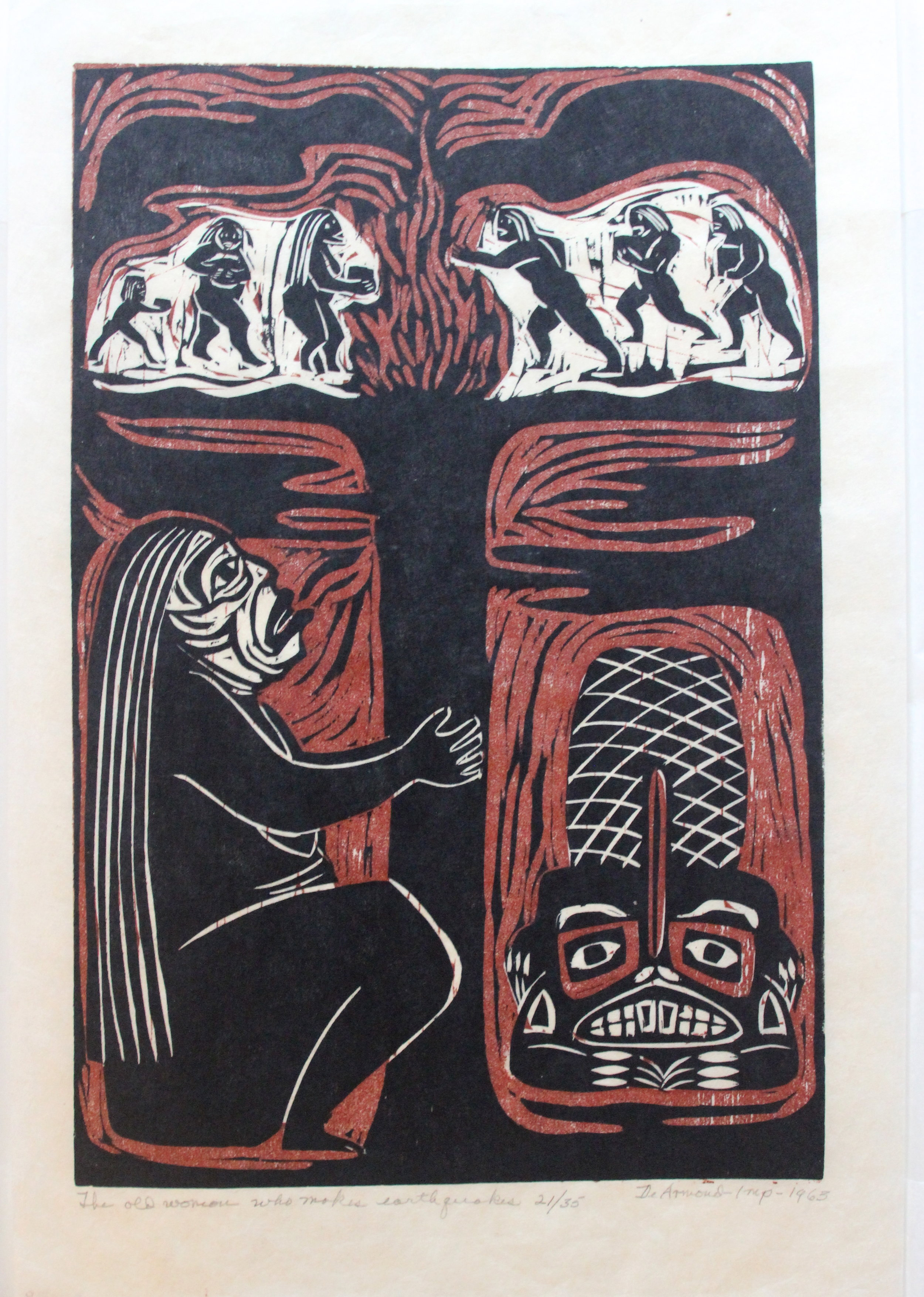 Dale DeArmond, The Old Woman Who Makes Earthquakes, 1965