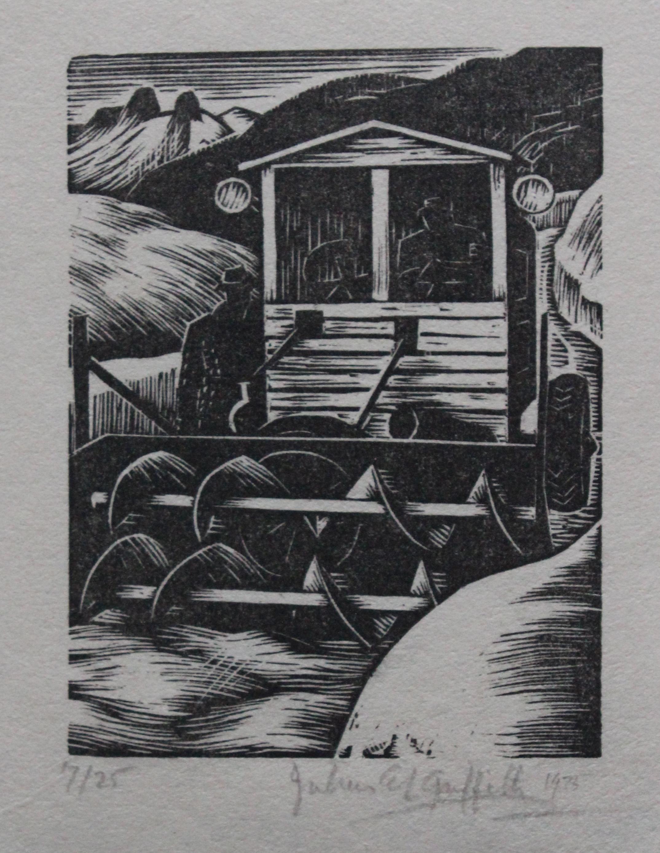 Julius Griffith, Untitled (Snowplow)