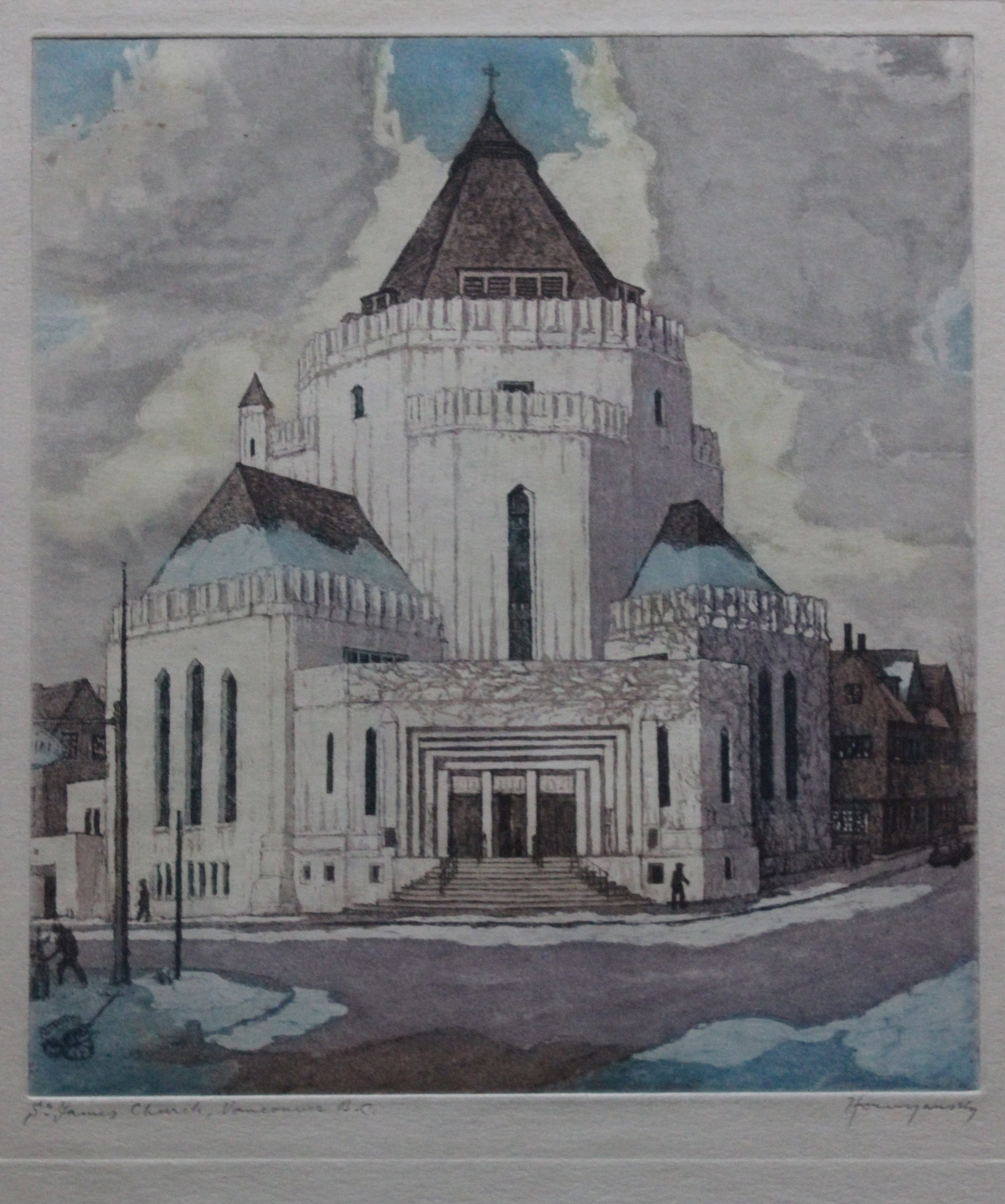 Nicholas Hornyansky, St. James Church, Vancouver, BC, 1948