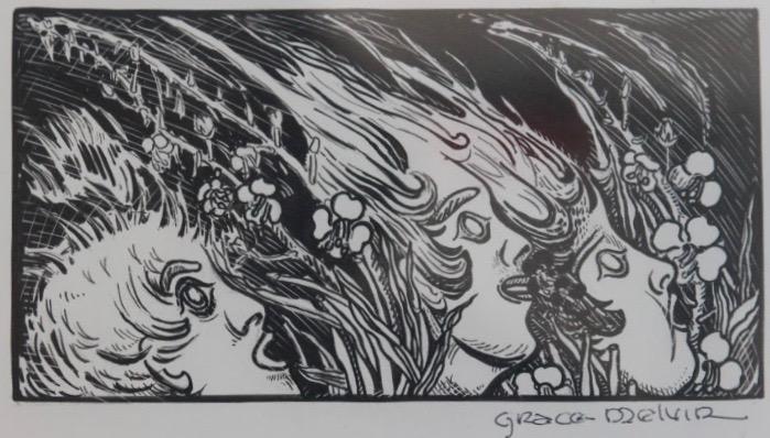 Grace Melvin, Untitled (Three Fairies)